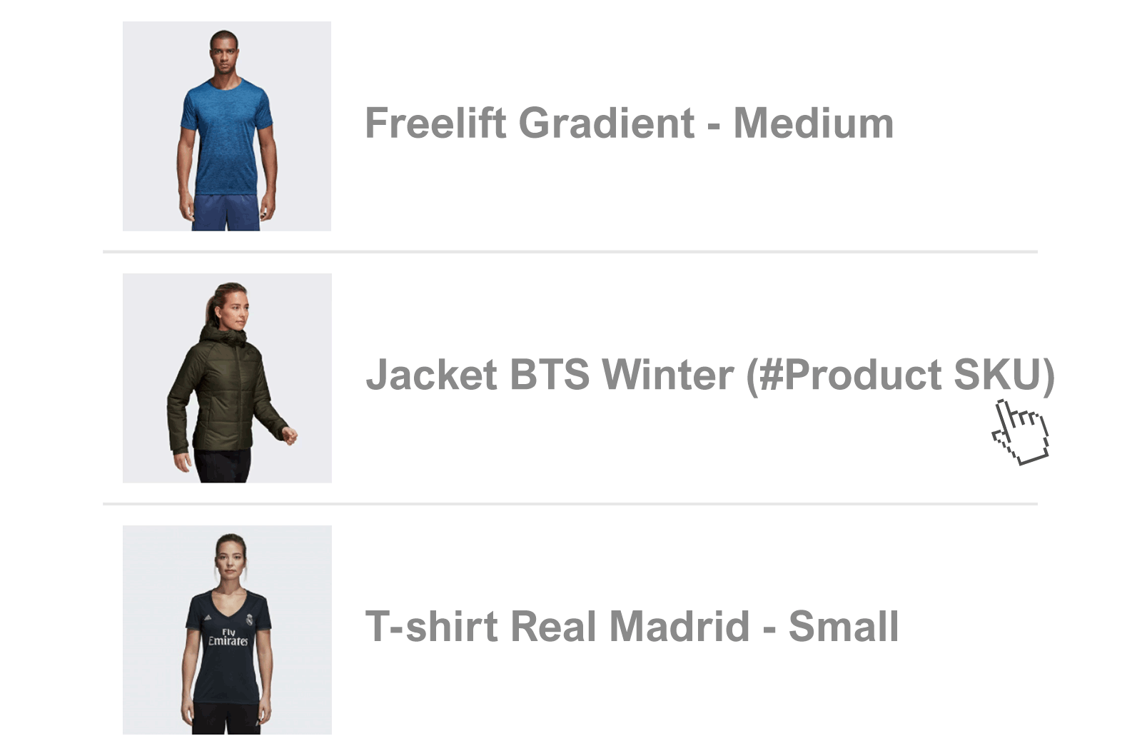 Product SKUs in WooCommerce Order Emails